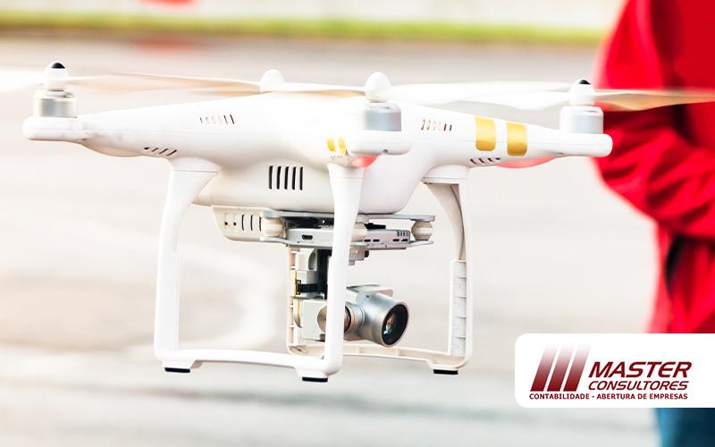 Empresa De Drone Como Abrir A Sua Post - Master Consultores