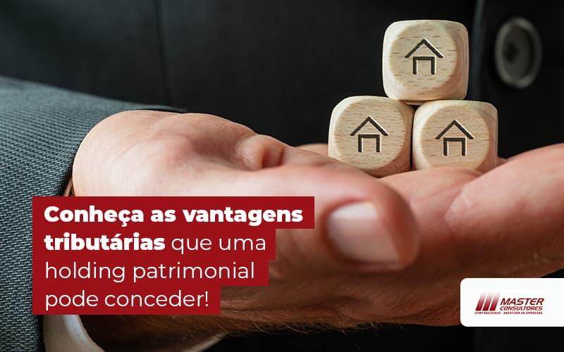 Conheca As Vantagens Tributarias Que Uma Holding Patrimonial Pode Conceder Blog (1) - Contabilidade Na Lapa - SP | Master Consultores